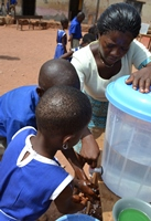 Handwashing in school in Ghana.jpg