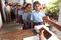 Deworming children in schools in India.jpg